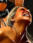 The exquisite combination of pain and pleasure brings Nicole to powerful climax